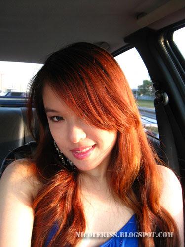 sun light hair