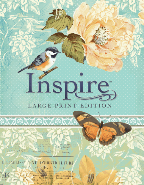 Inspire Bible Large Print NLT – Review & Giveaway
