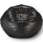 Ace Bayou Matte Bean Bag, L, Black