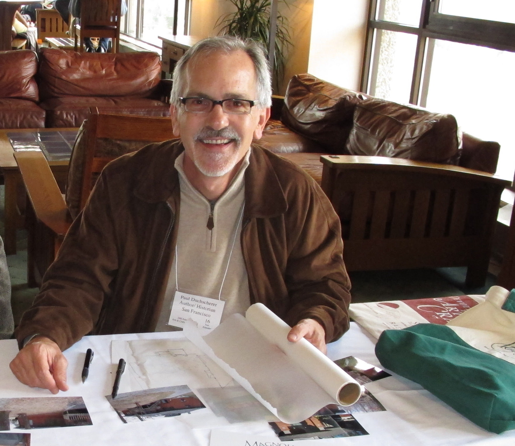 Author Paul Duchscherer Passes Away Arts And Crafts Collector