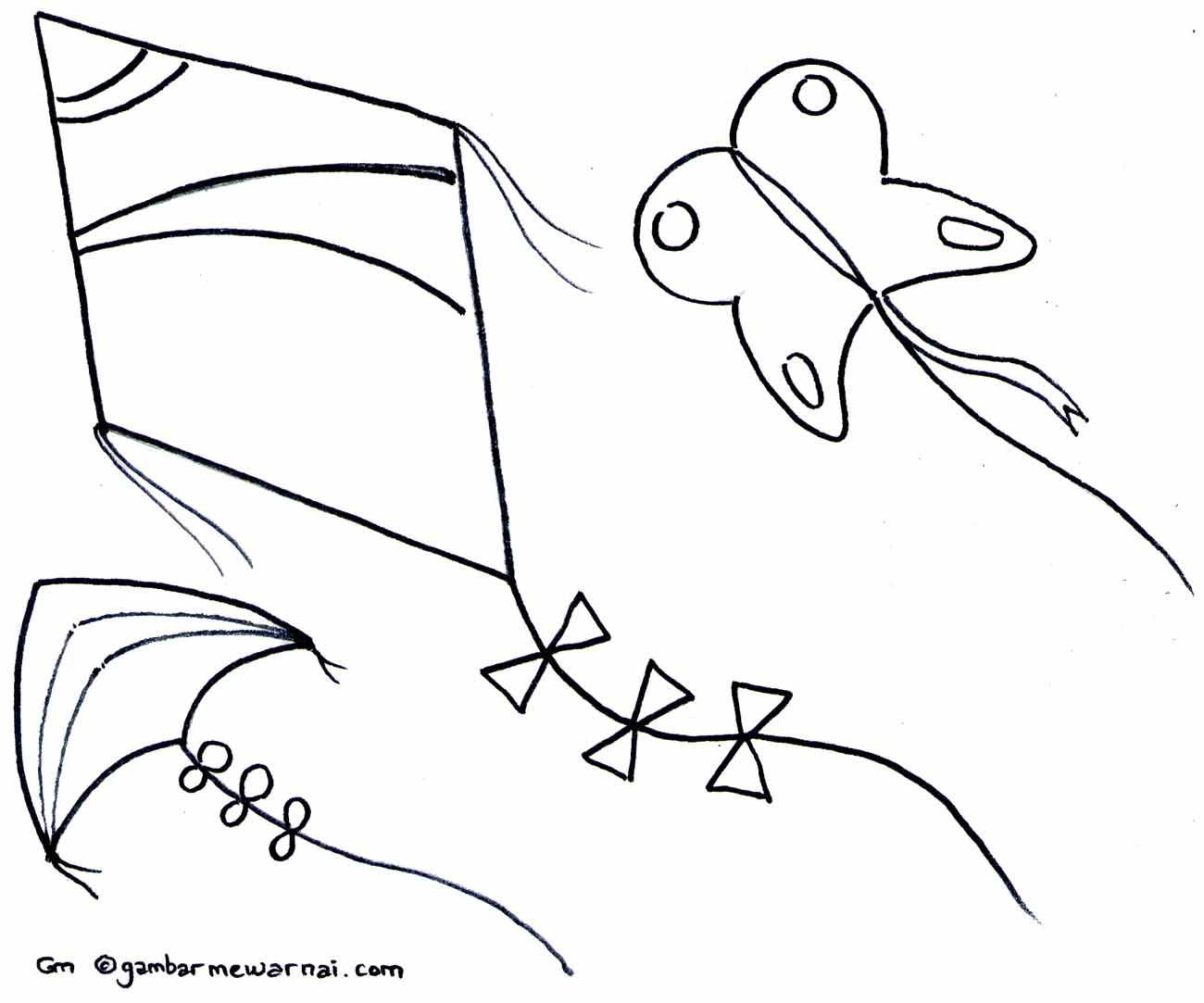 Gambar Mewarnai Jenis Burung Pewarna O