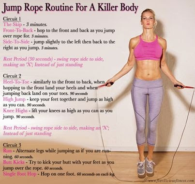 does jump roping lose fat
