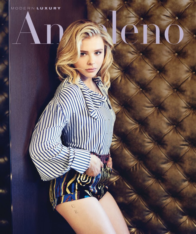 Chloe Moretz - Modern Luxury Magazine (Jan/Feb 2016)