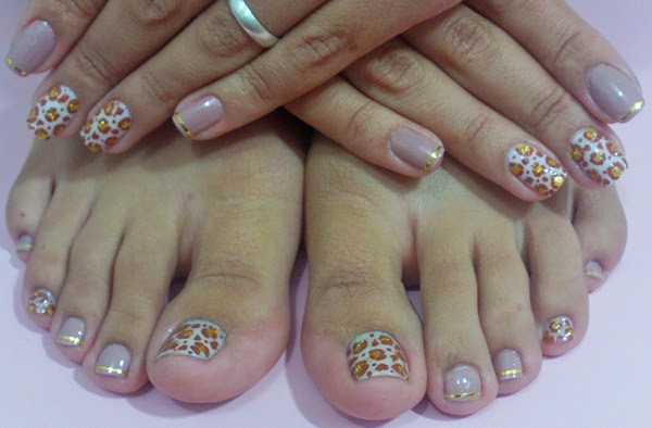fotos de unhas decoradas manual bela e simples1