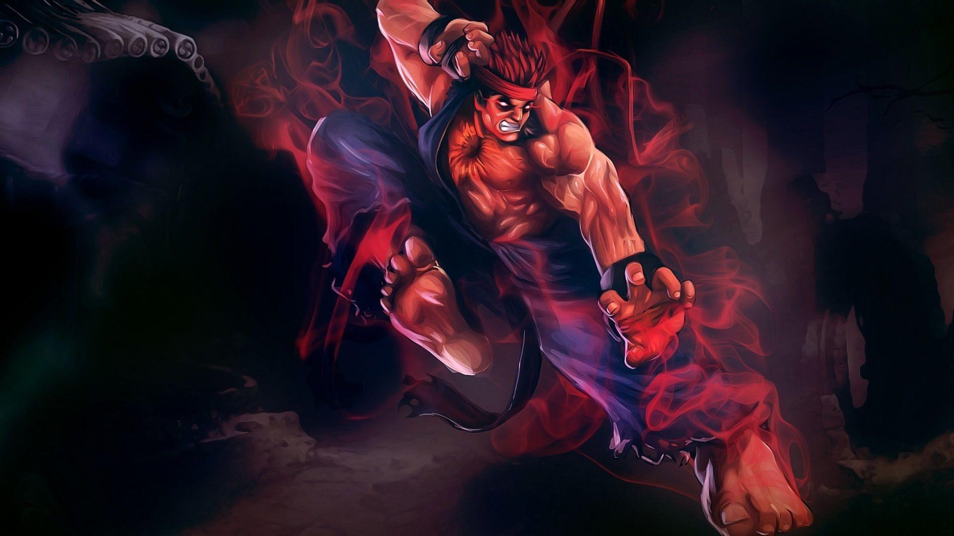 Evil Ryu Wallpaper 78 Images