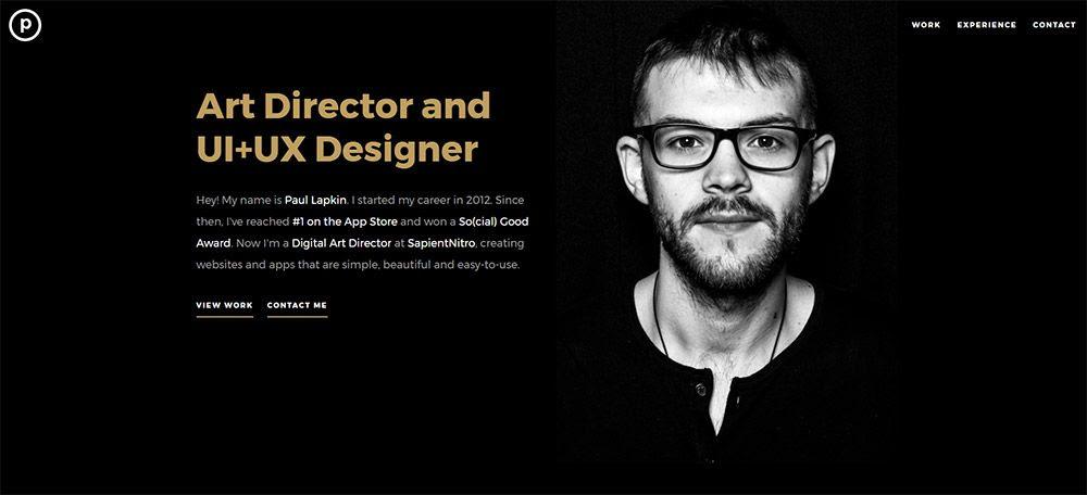 paul lapkin designer site