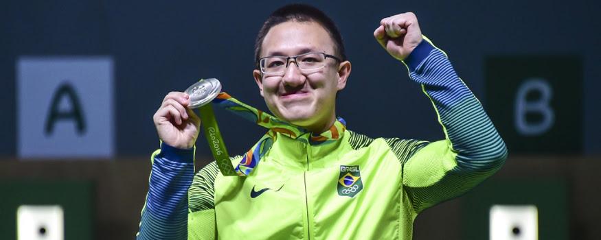Wu conquistou a primeira medalha brasileira. (Wander Roberto/ Exemplus/ COB)