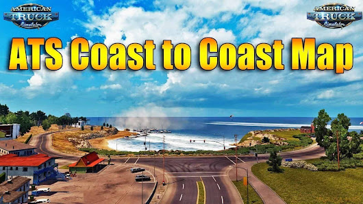 Update Coast to Coast Map v2.5.2 Mod - American Truck Simulator mod | ATS mod