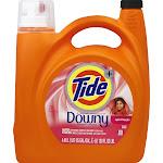 Tide Plus A Touch of Downy Detergent, April Fresh - 138 fl oz jug