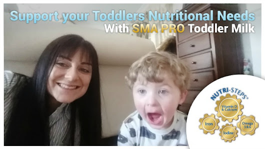 Support your Toddlers Nutritional Needs with SMA® PRO Toddler Milk - U me and the kids
