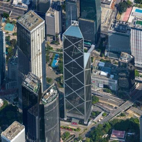Bank Of China Tower By I M Pei In Hong Kong Hong