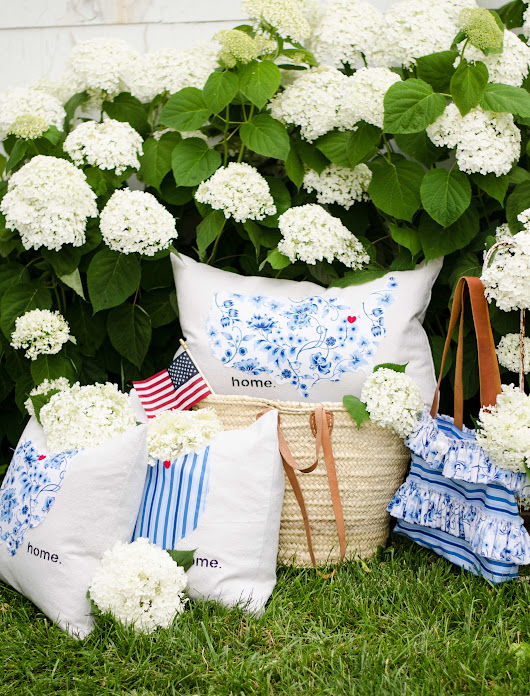 Sweet Tea Pillows and Handbag | Sew a Fine Seam