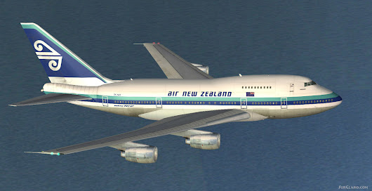 FS2004 Boeing 747SP Air New Zealand ZK-NZZ Airliners (21490)
