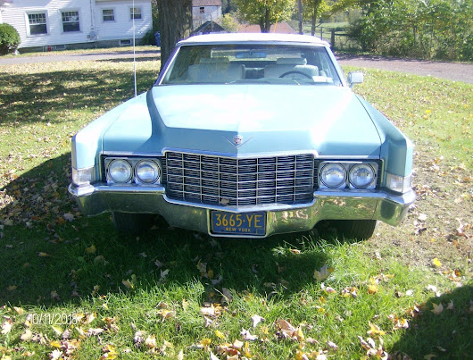 needs tlc 1969 Cadillac Deville Convertible for sale