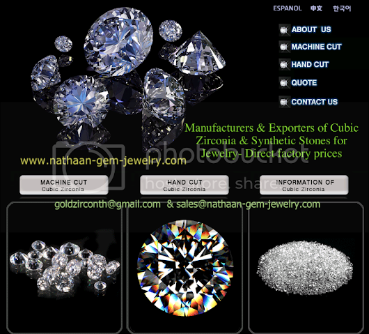 Nathaan Gemstones The largest supplier of Cubic Zirconia including Loose Cz Cubic Zirconia, Lab Created Synthetic Gemstones
