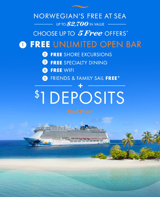 Norwegian Cruise Line's $1 Deposits are Back! | travel