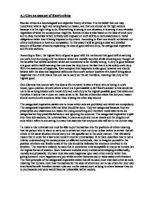 Kantian ethics essay