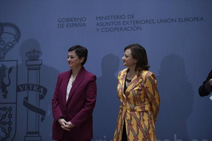 El Comisionado de la UA para la Paz y la Seguridad discute con la Secretaria de Estado español para Asuntos Exteriores la cuestión en el Sahara Occidental