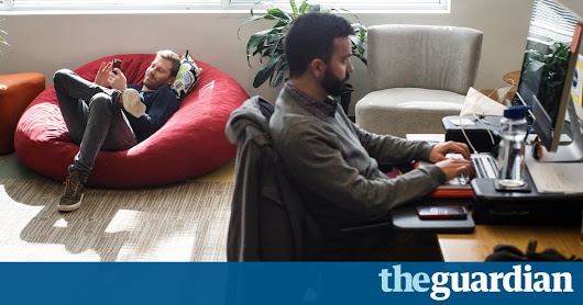 Co-working spaces are the future of work but that could be a good thing | Guardian Sustainable Business | The Guardian