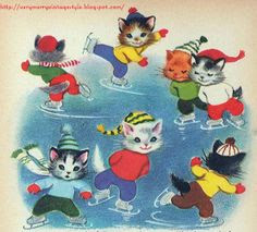 The Seven Wonderful Cats. It's a Rand McNally storybook retold by Wallace C. Wadsworth and illustrated by Elizabeth Webbe.