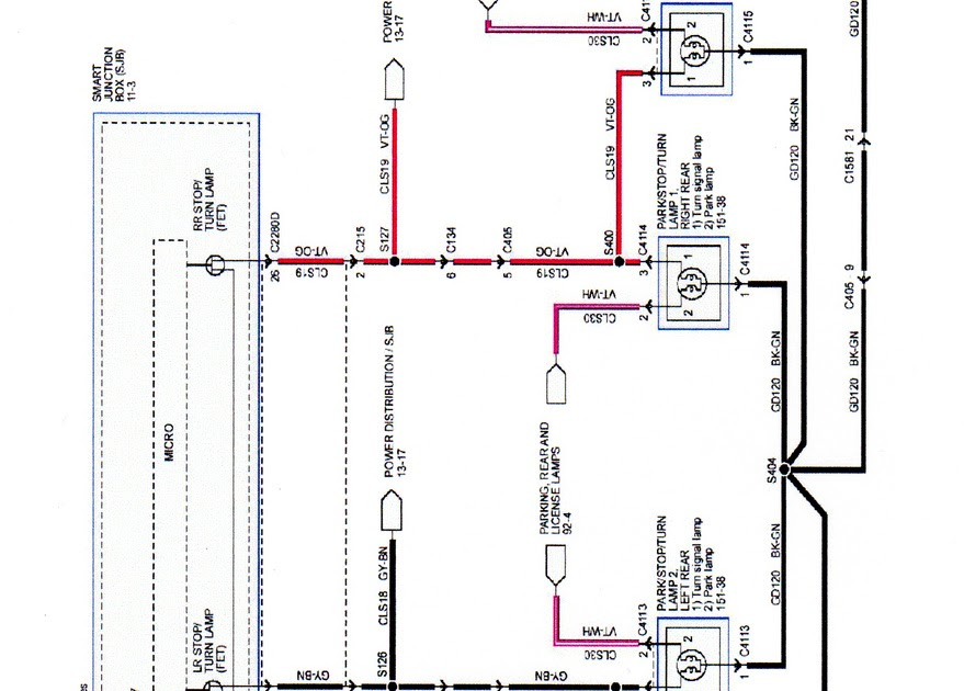 35 Best Of Ford F150 Tail Light Wiring Diagram