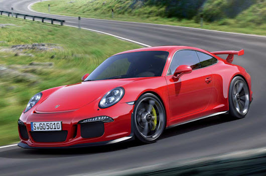 Porsche 911 GT3 named Performance Car of the Year by Road & Track