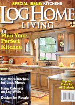 Log Home Magazines And Publications Featuring The Log Connection