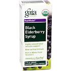 Gaia Herbs Black Elderberry Syrup - 3 fl oz bottle