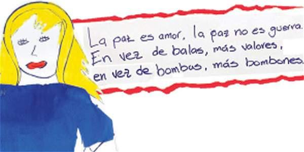 Proceso De Paz Cartas De 100 Ninos De Colombia A Las Farc Archivo