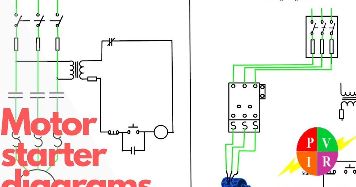 Wiring Diagram 3 Phase Contactor