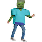Minecraft Zombie Classic Child Costume, Blue/Green