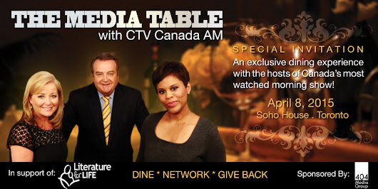 Just 2 tickets left to The Media Table with CTV Canada AM