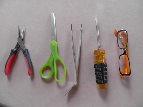 Some of the tools
