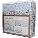 Dwell Studio Safari Skies Animal/Jungle 3 Piece Crib Bedding Set,