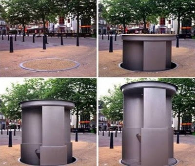 Toilet yang Bisa Menghilang