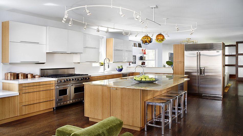 Gorgeous Kitchen Track Lighting House Decoration Ideas