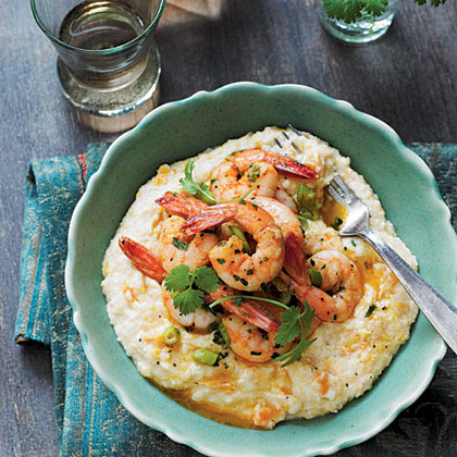 Creole Shrimp and Sweet Potato Grits - recipes and cooking guide