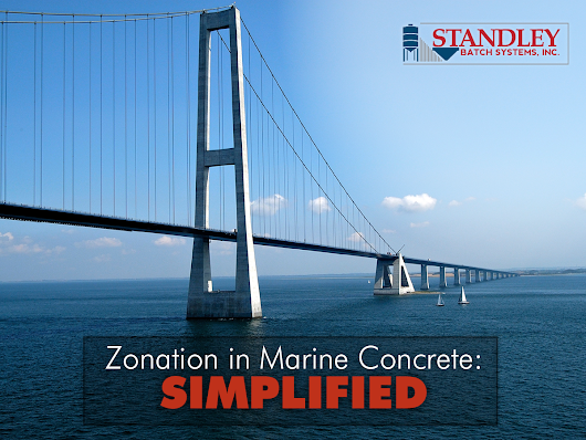 Zonation in Marine Concrete: Simplified