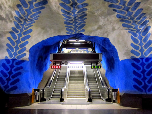 Stockholm Subway Art -TurtlesTravel