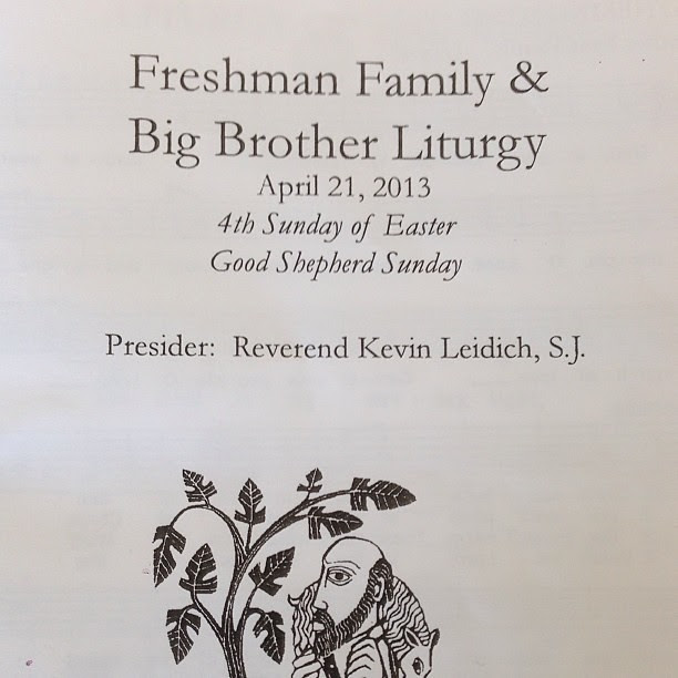Freshman Family & Big Brother Liturgy