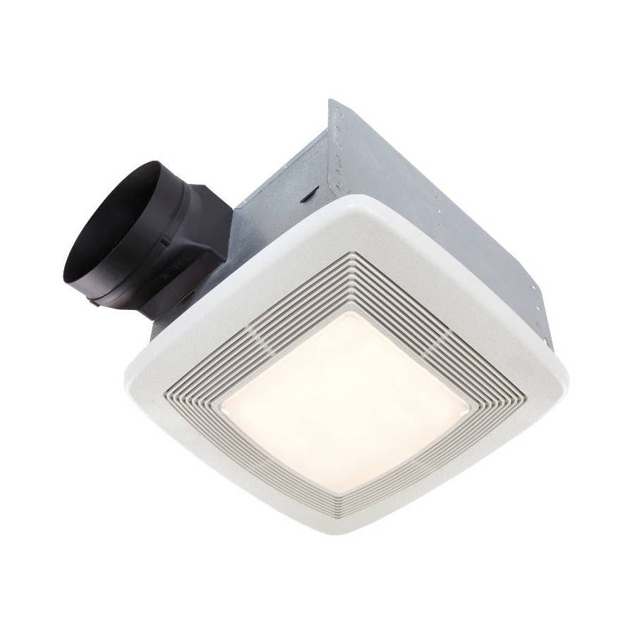 Broan 1 4 Sone 150 Cfm White Bathroom Fan Energy Star In The Bathroom Fans Heaters Department At Lowes Com