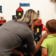 Brik Make a Wall LEGO Compatible With Wall Tiles on Funderdome | As Seen On TV Marketplace
