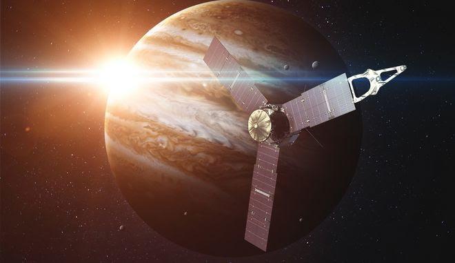 Δορυφόρος γύρω από τη ΓΗ