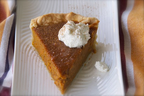 sweet potato pie from cookbook Southern Pies
