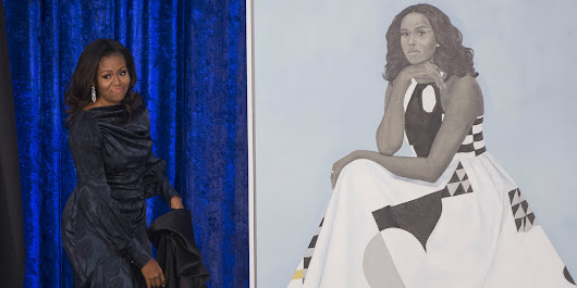 Michelle Obama's Portrait Is So Popular the Smithsonian Had to Move It