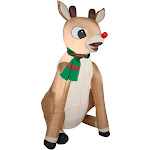 Gemmy Christmas Inflatable Rudolph (86344)