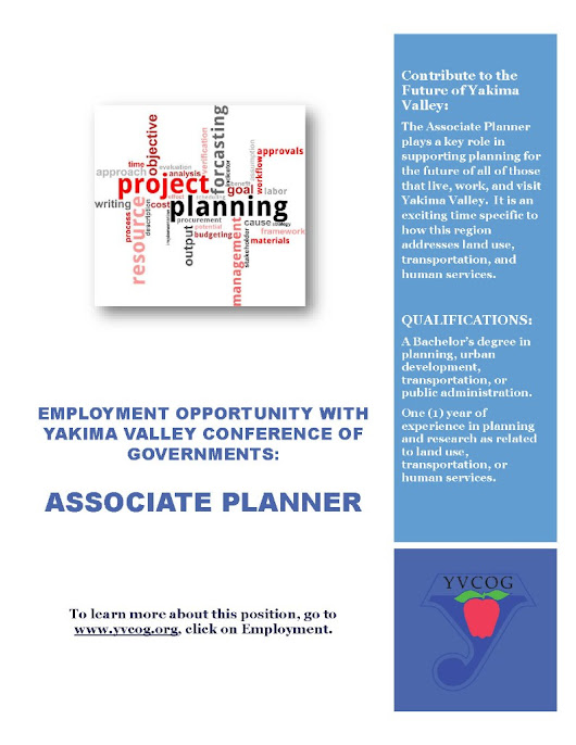 YVCOG Now Hiring: Associate Planner