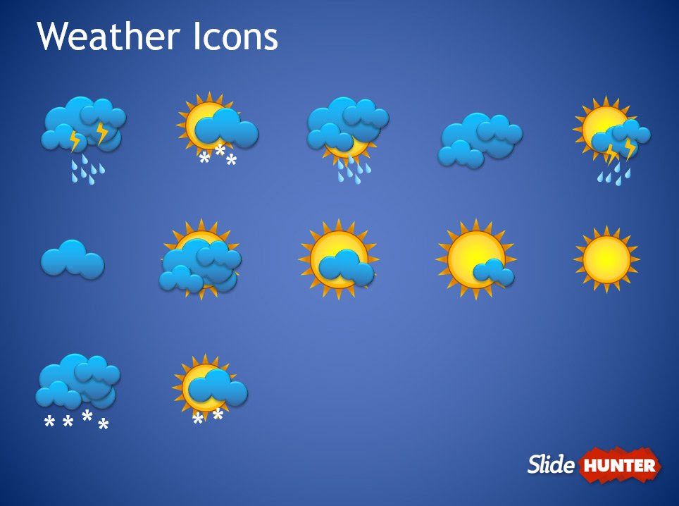 Free Weather Forecast PowerPoint Template - Free PowerPoint ...