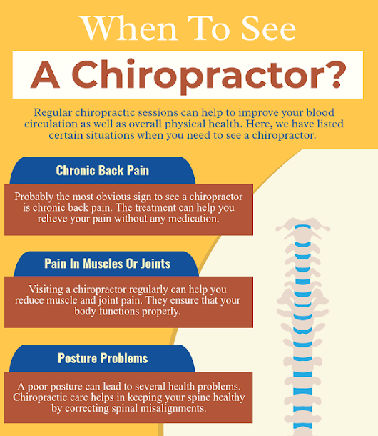 Blog on Chiropractic Killeen, Harker Heights | When To See A Chiropractor