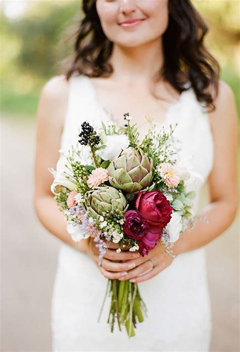 Rustic, Country Garden Style Wedding Flowers   CHWV
